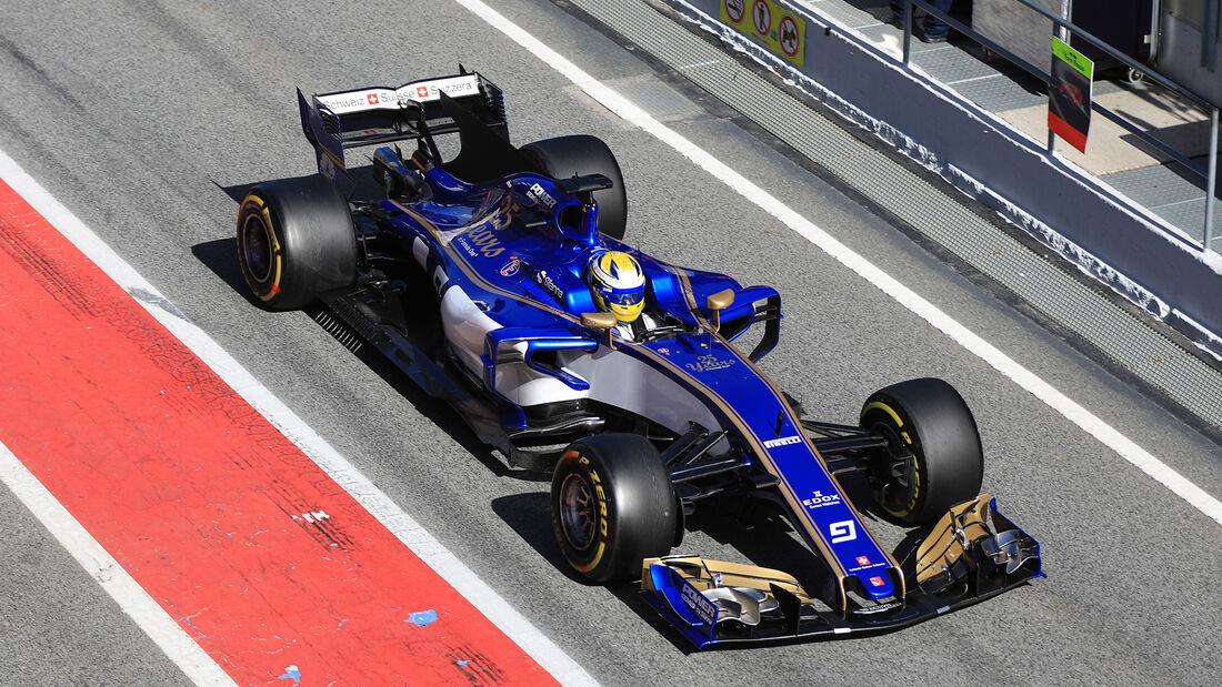 Marcus Ericsson - Sauber - Formel 1 - Test - Barcelona - 7. März 2017