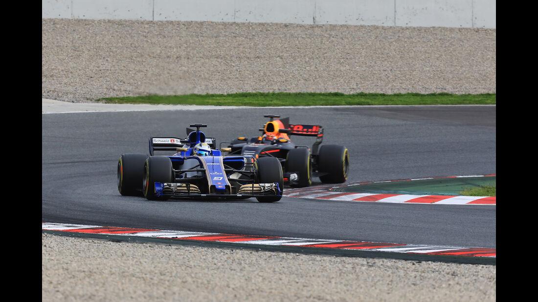 Marcus Ericsson - Sauber - Formel 1 - Test - Barcelona - 8. März 2017