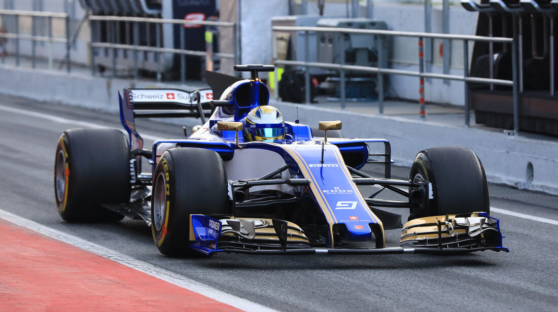 Marcus Ericsson - Sauber - Formel 1 - Test - Barcelona - 9. März 2017