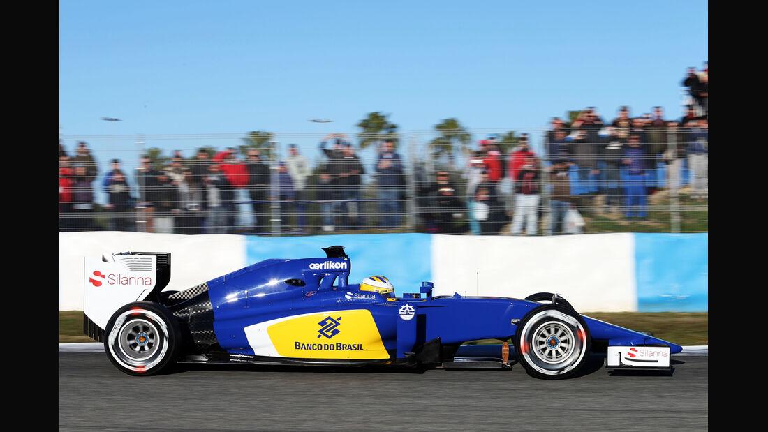 Marcus Ericsson - Sauber - Formel 1-Test Jerez - 1. Febraur 2015