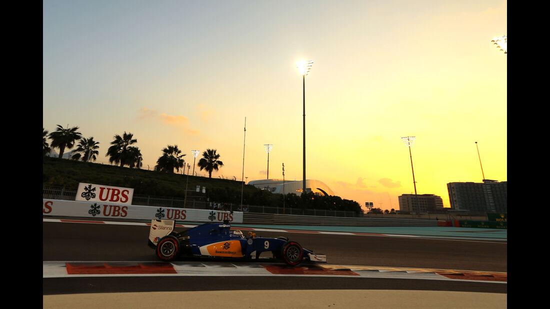 Marcus Ericsson - Sauber - GP Abu Dhabi - 28. November 2015