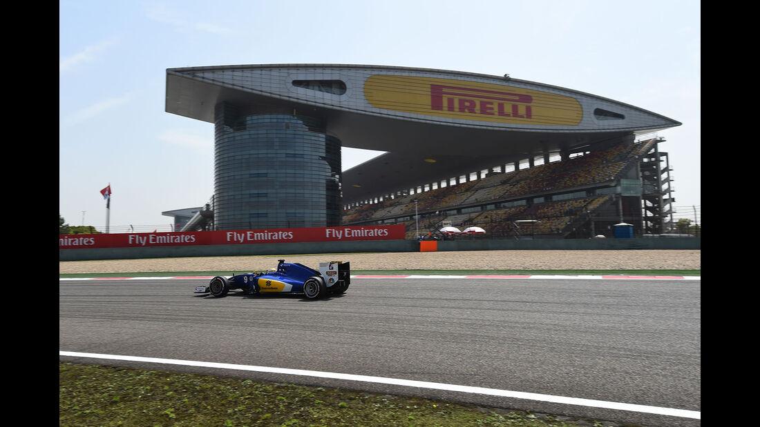 Marcus Ericsson - Sauber - GP China - Shanghai - Freitag - 15.4.2016