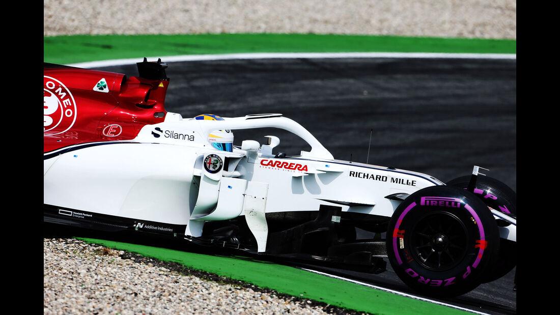 Marcus Ericsson - Sauber - GP Deutschland 2018 - Hockenheim - Qualifying - Formel 1 - Samstag - 21.7.2018