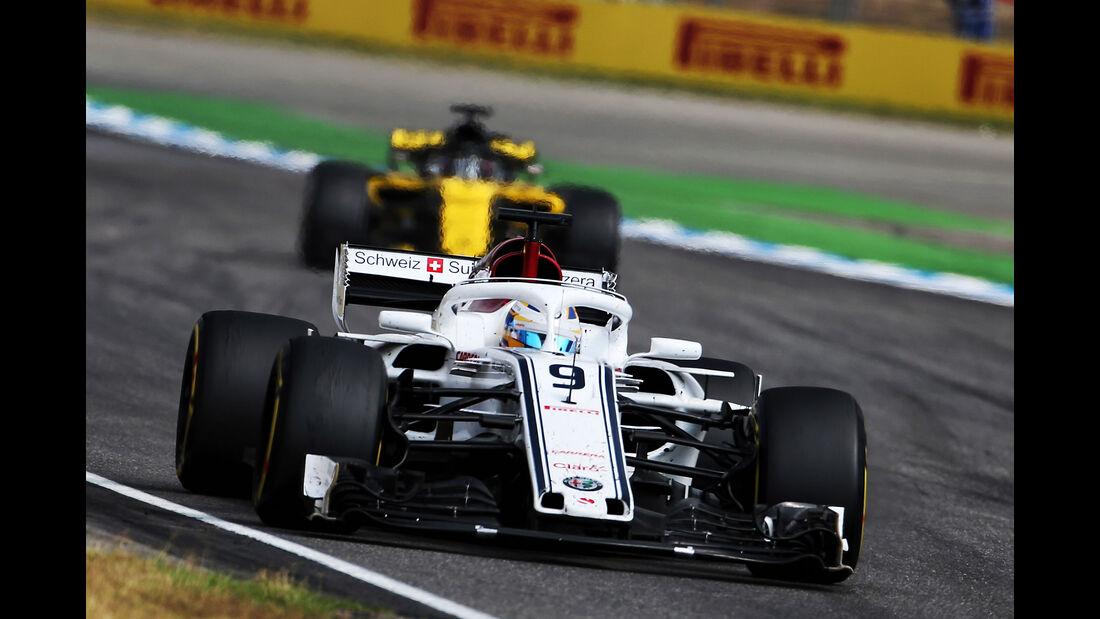 Marcus Ericsson - Sauber - GP Deutschland 2018 - Rennen