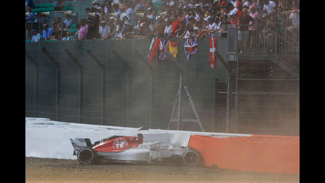 Marcus Ericsson - Sauber - GP England 2018 - Silverstone - Rennen