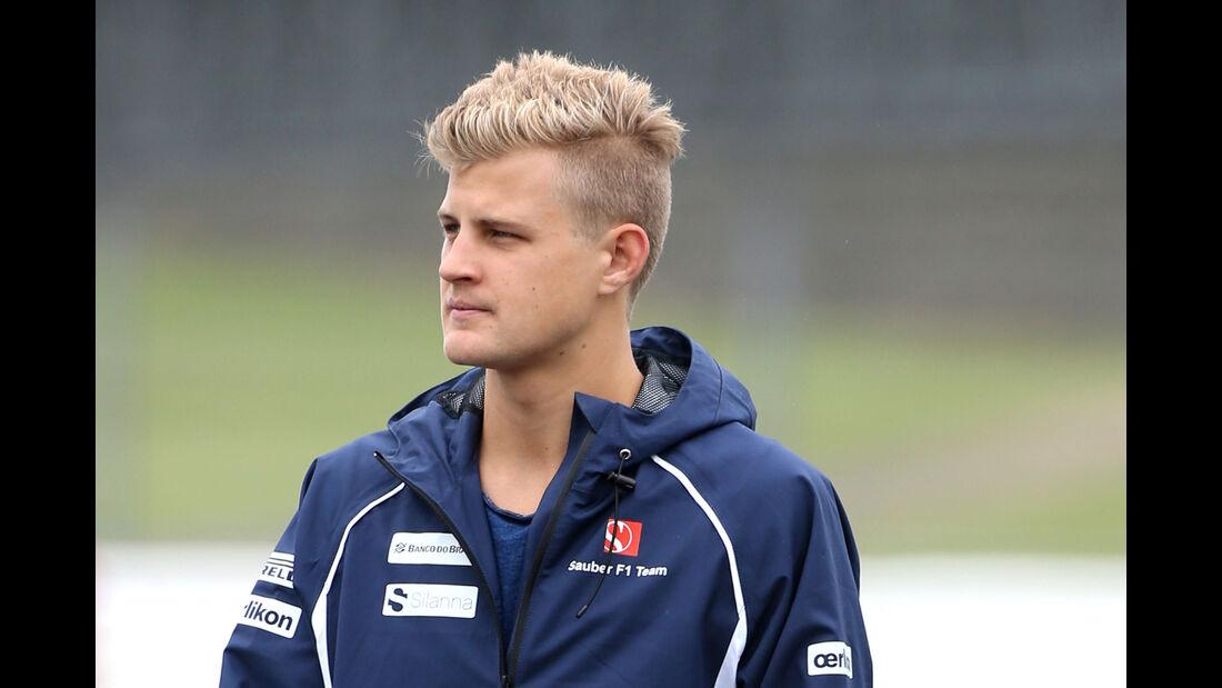 Marcus Ericsson - Sauber - GP England - Silverstone - Donnerstag - 2.7.2015