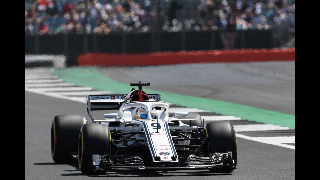 Marcus Ericsson - Sauber - GP England - Silverstone - Formel 1 - Samstag - 7.7.2018