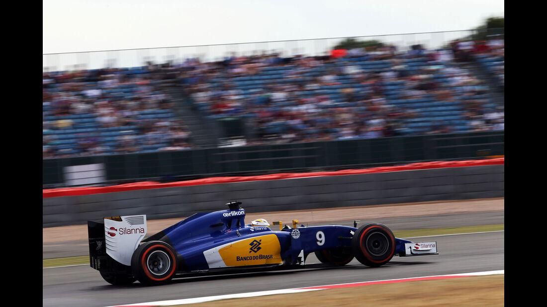 Marcus Ericsson - Sauber - GP England - Silverstone - Freitag - 3.7.2015