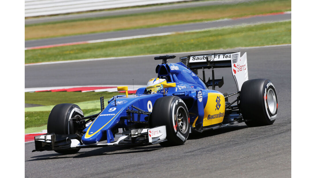 Marcus Ericsson - Sauber - GP England - Silverstone - Qualifying - Samstag - 4.7.2015