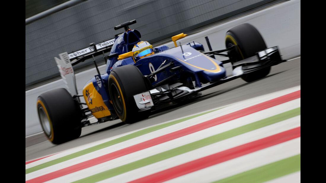 Marcus Ericsson - Sauber - GP Italien - Monza - Freitag - 4.9.2015