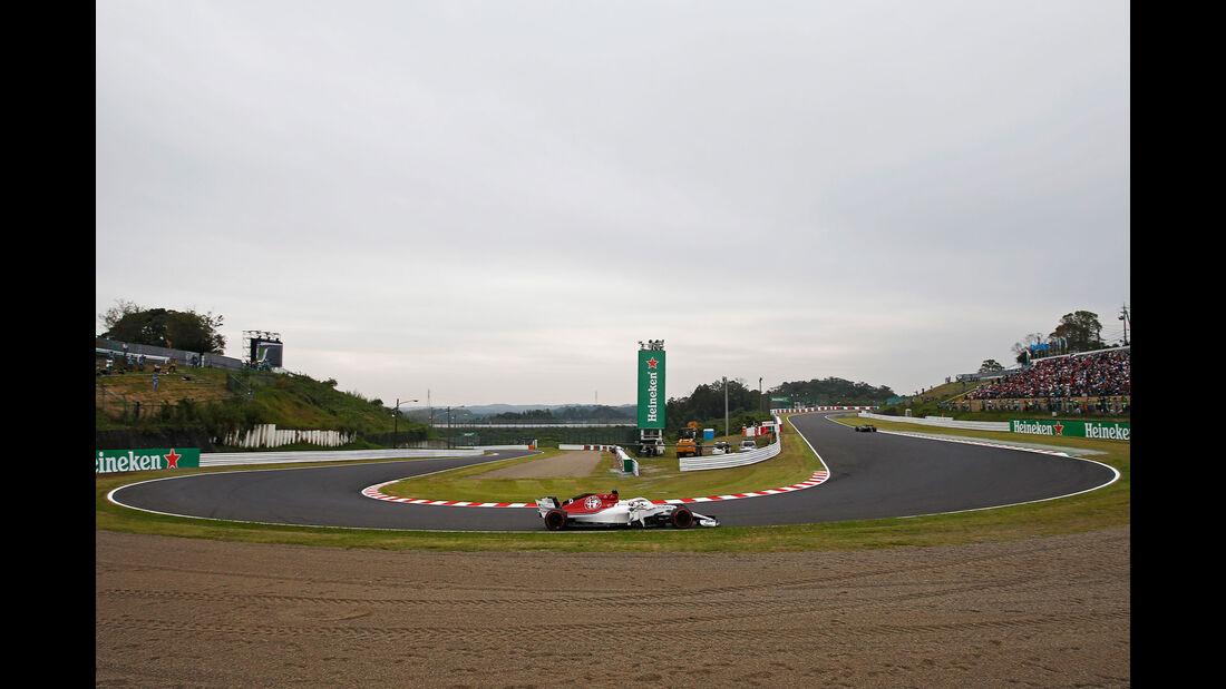 Marcus Ericsson - Sauber - GP Japan - Suzuka - Formel 1 - Freitag - 5.10.2018