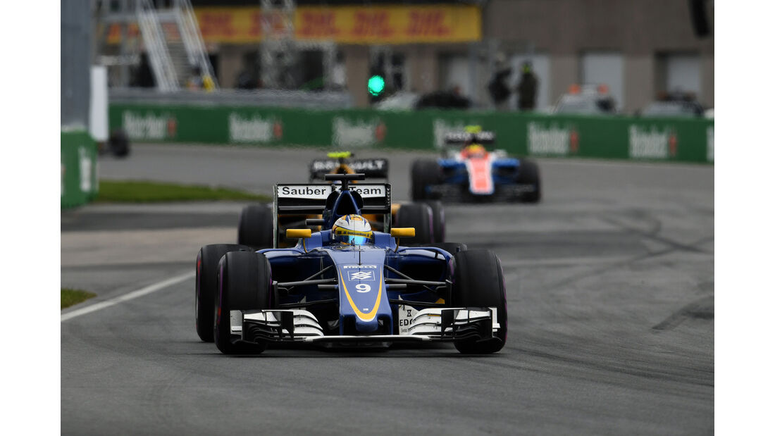 Marcus Ericsson - Sauber - GP Kanada 2016 - Montreal