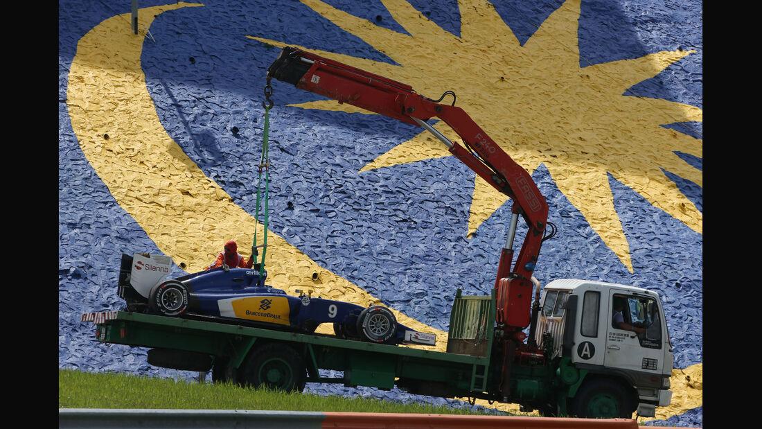 Marcus Ericsson - Sauber - GP Malaysis 2015 - Formel 1