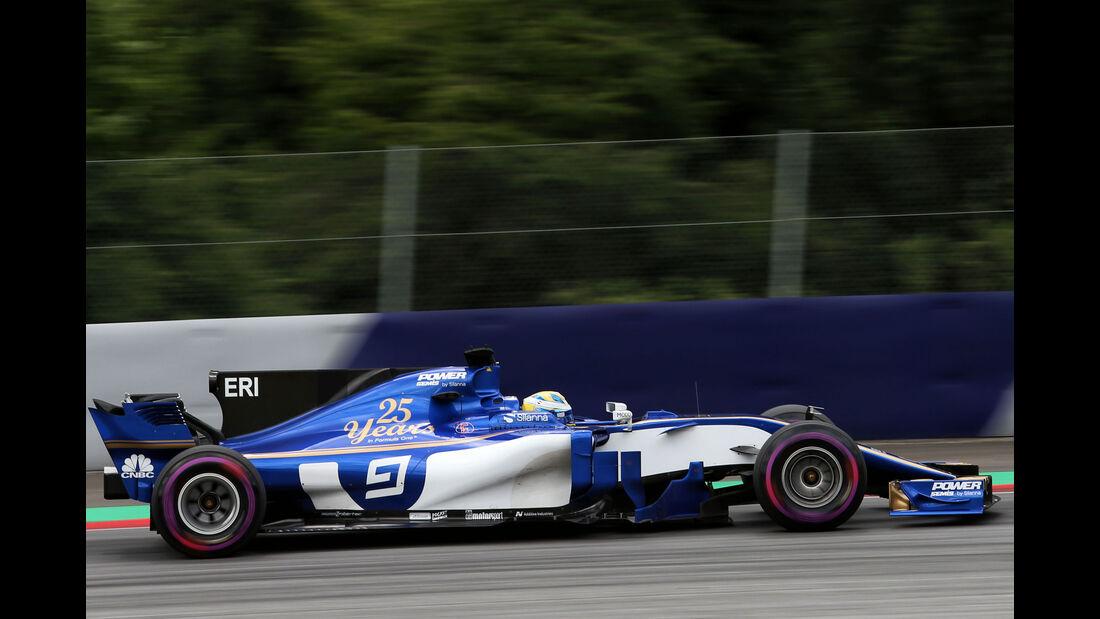 Marcus Ericsson - Sauber - GP Österreich 2017 - Spielberg - Qualifying
