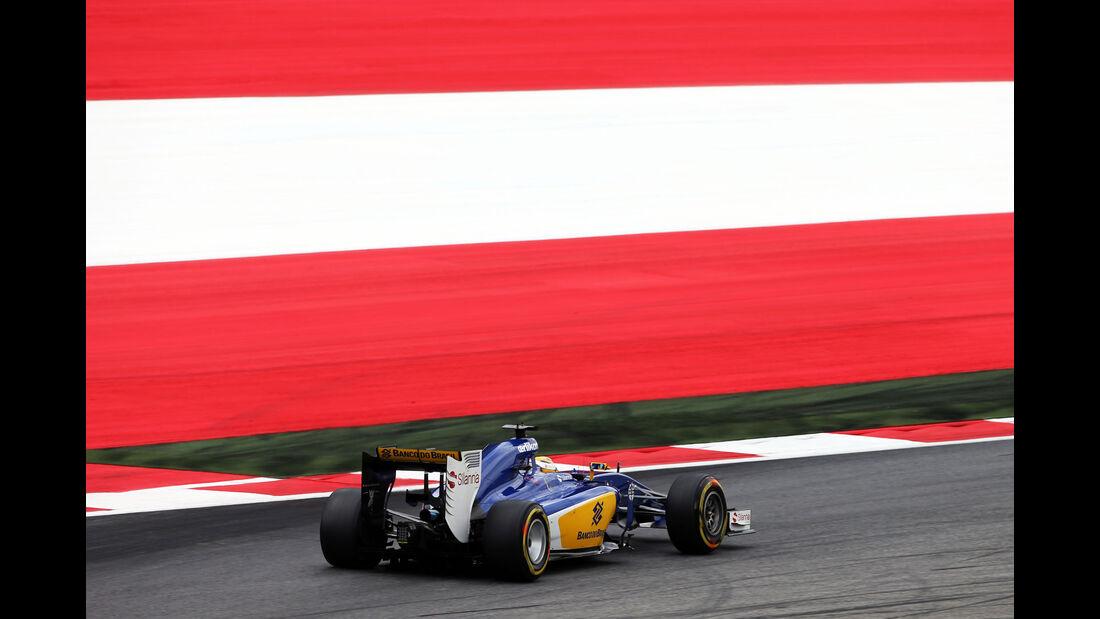 Marcus Ericsson - Sauber - GP Österreich - Formel 1 - Freitag - 19.6.2015