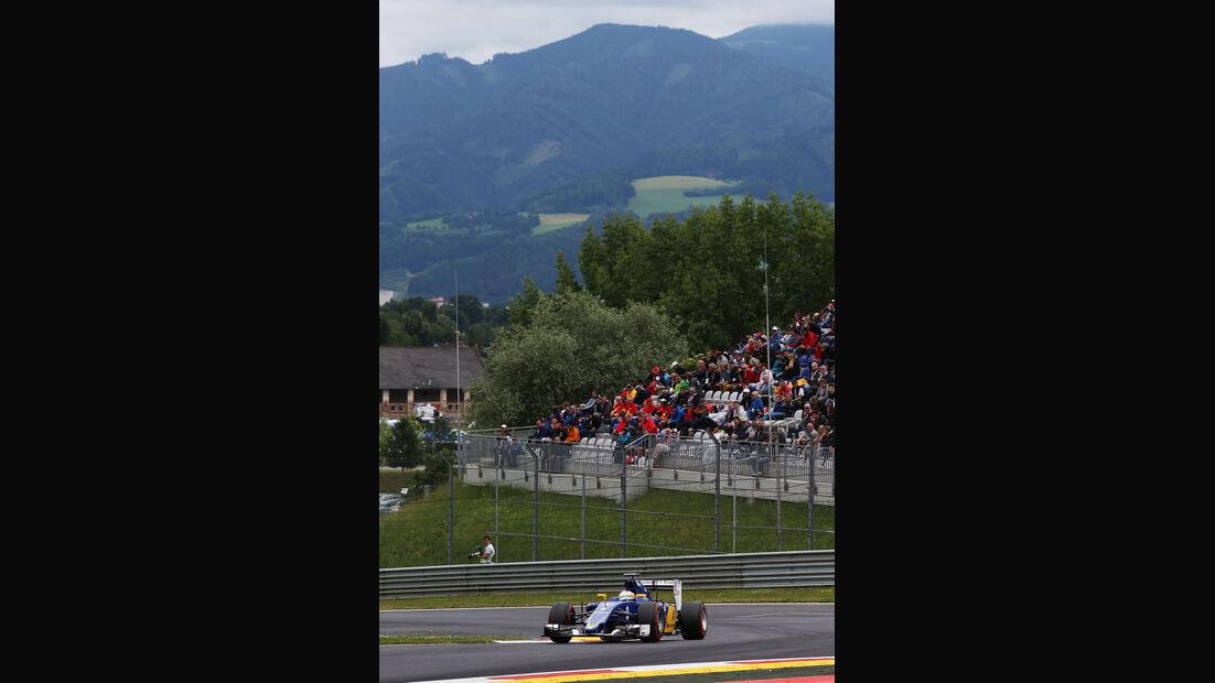 Marcus Ericsson - Sauber - GP Österreich - Qualifiying - Formel 1 - Samstag - 20.6.2015
