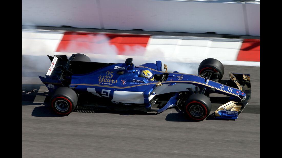 Marcus Ericsson - Sauber - GP Russland 2017