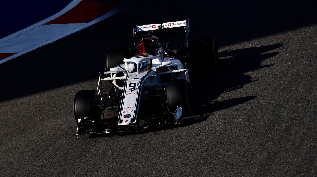 Marcus Ericsson - Sauber - GP Russland 2018 - Sotschi - Qualifying