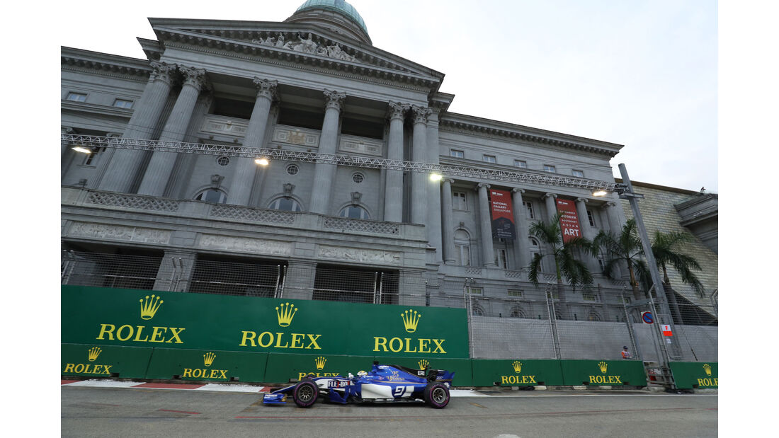 Marcus Ericsson - Sauber - GP Singapur - Formel 1 - Freitag - 15.9.2017