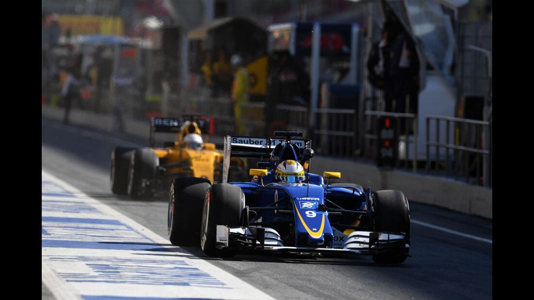 Marcus Ericsson - Sauber - GP Spanien 2016 - Barcelona - F1 - Freitag - 13.5.2016