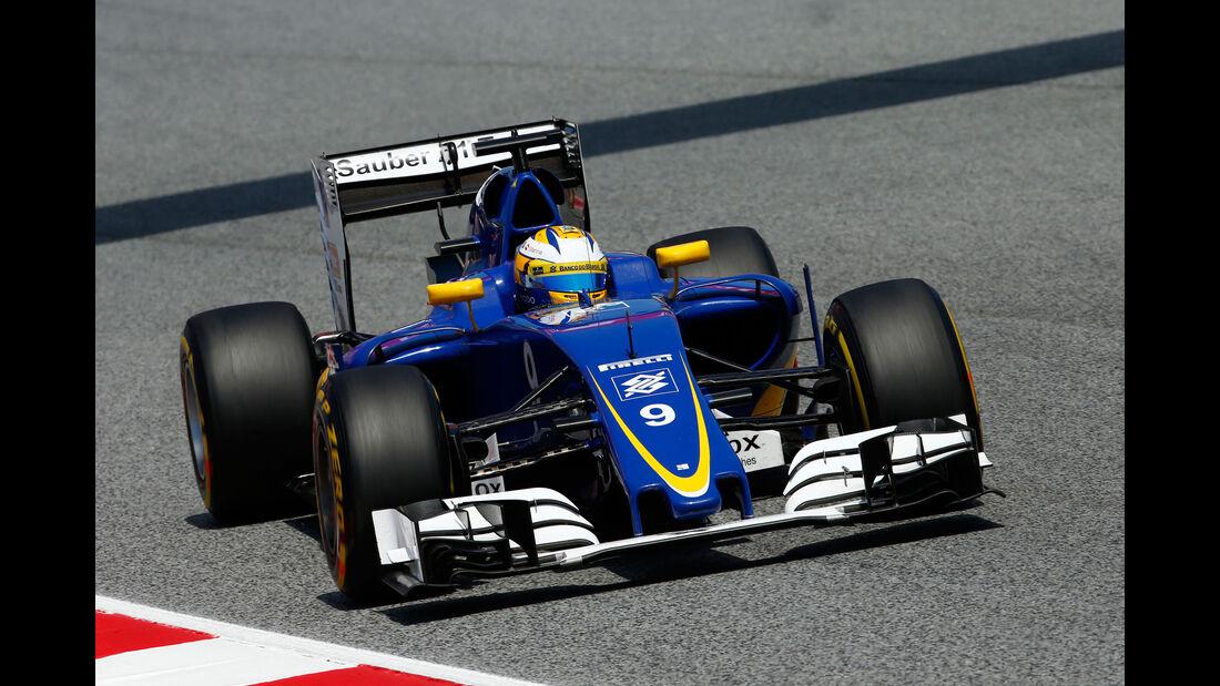 Marcus Ericsson - Sauber - GP Spanien 2016 - Qualifying - Samstag - 14.5.2016