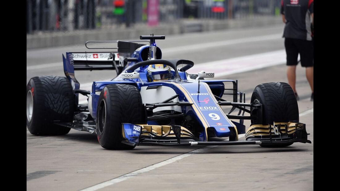 Marcus Ericsson - Sauber - GP USA - Austin - Formel 1 - Freitag - 20.10.2017
