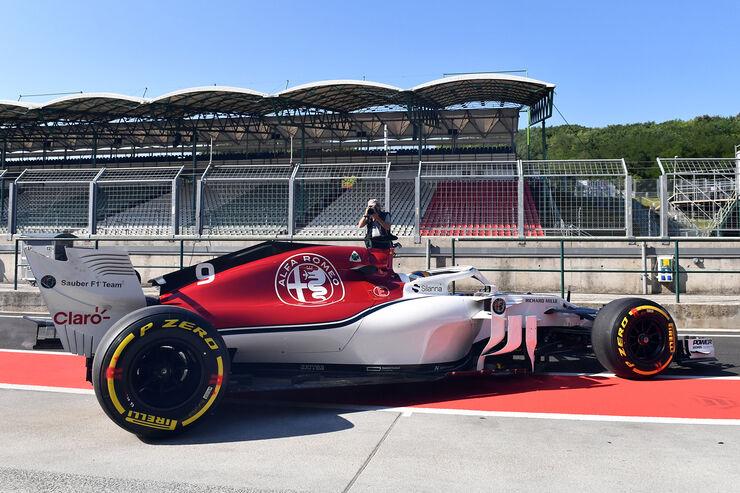 Marcus Ericsson - Sauber - GP Ungarn - Budapest - F1-Test - 31. Juli 2018
