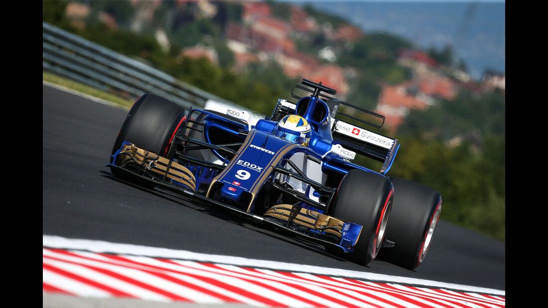 Marcus Ericsson - Sauber - GP Ungarn - Budapest - Formel 1 - 28.7.2017