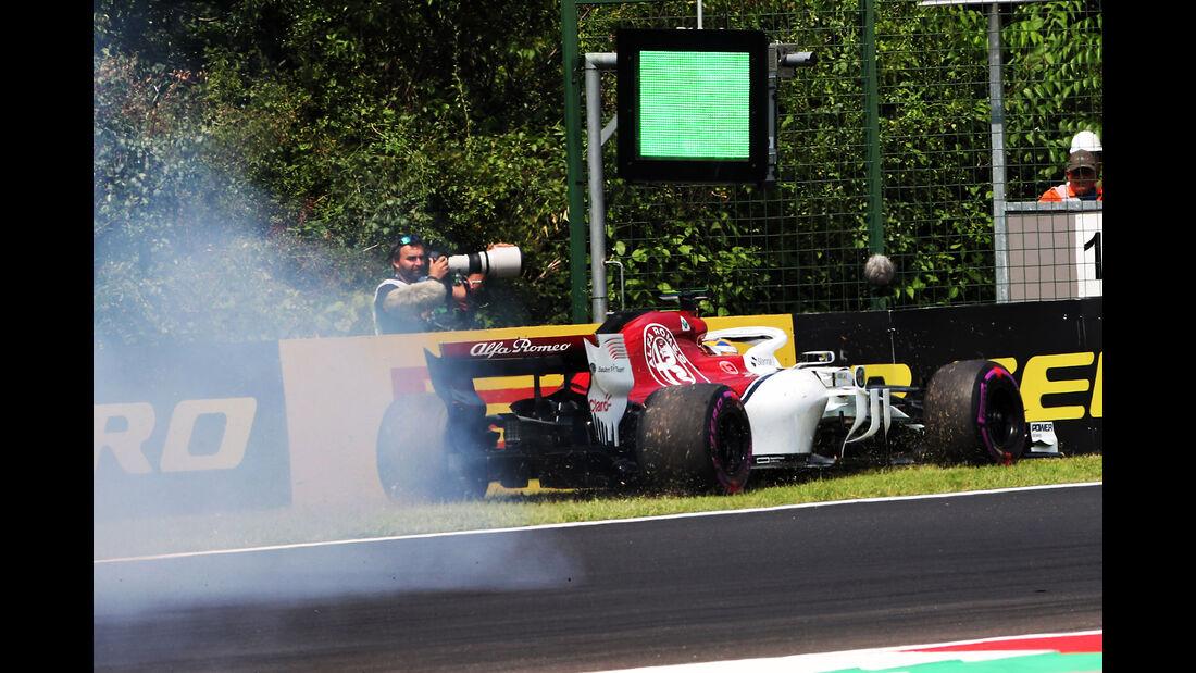 Marcus Ericsson - Sauber - GP Ungarn - Budapest - Formel 1 - Freitag - 27.7.2018