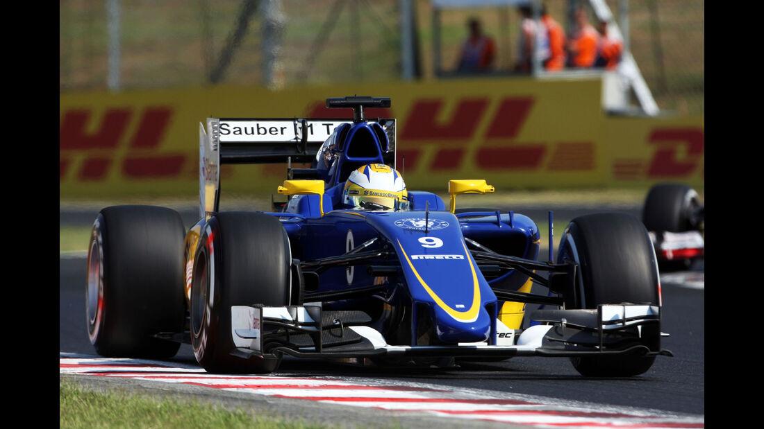 Marcus Ericsson - Sauber - GP Ungarn - Budapest - Freitag - 24.7.2015