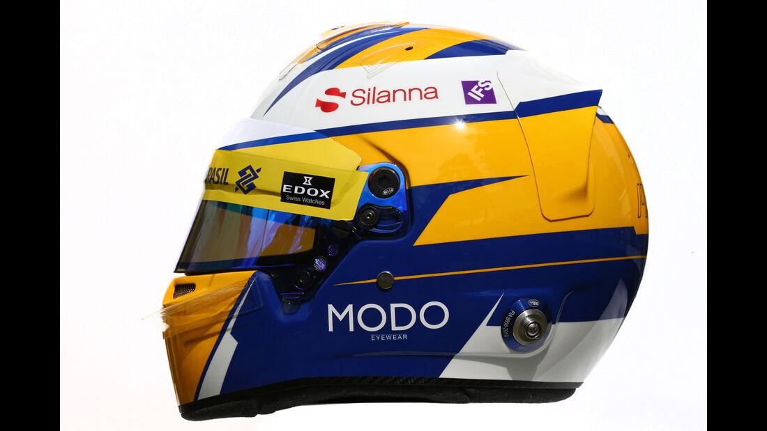 Marcus Ericsson - Sauber - Helm - Formel 1 - 2016