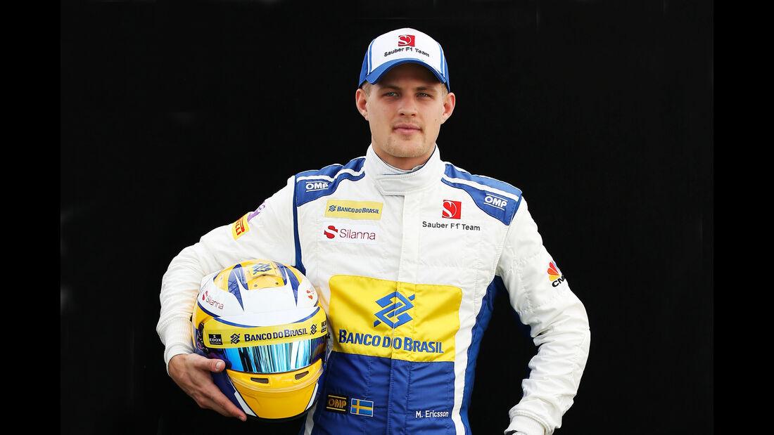 Marcus Ericsson - Sauber - Porträt - Formel 1 - 2016