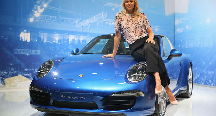 Maria Sharapova Porsche Werbung