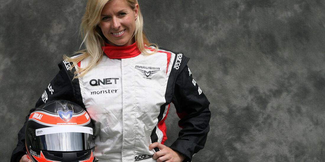 Maria de Villota - Marussia - GP Australien - Melbourne - 15. März 2012