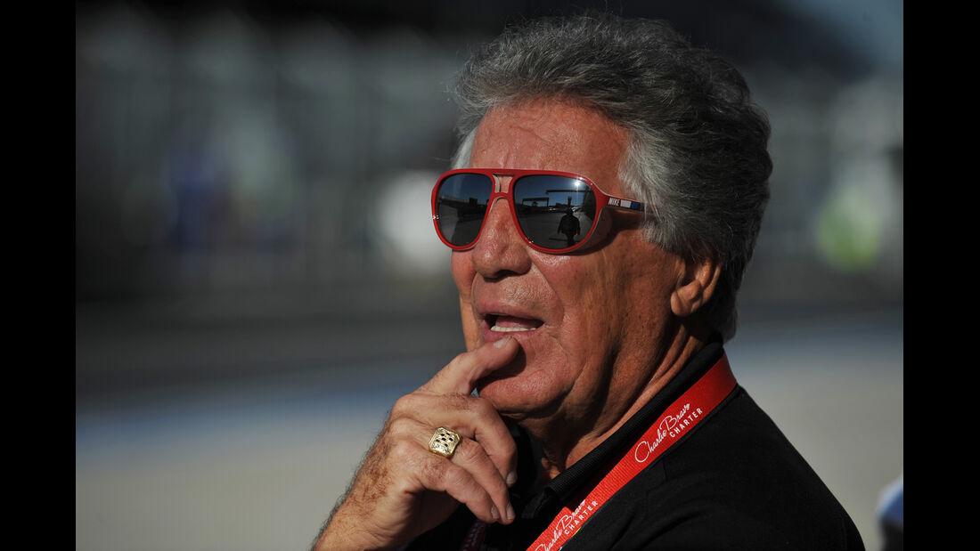 Mario Andretti - Formel 1 - GP USA - Austin - 16. November 2012