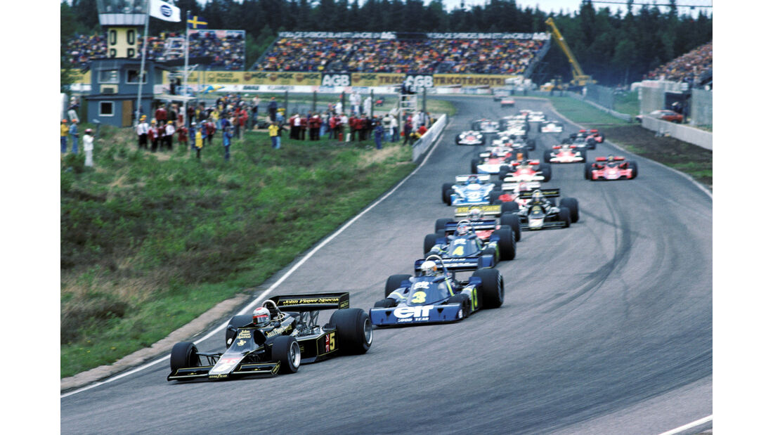 Mario Andretti - GP Schweden 1976