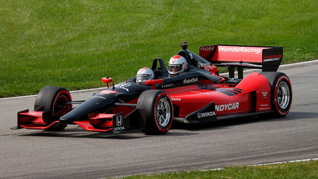 Mario Andretti - IndyCar - 2-Sitzer