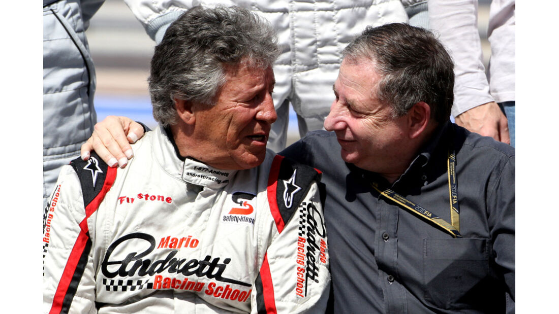 Mario Andretti & Jean Todt