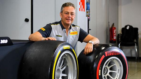 Mario Isola - Formel-2-Reifen 2020