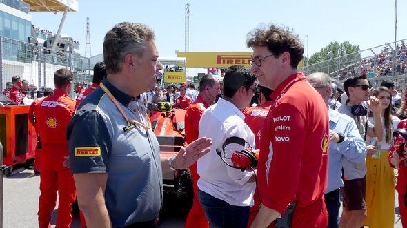 Mario Isola & Mattia Binotto - GP Kanada 2019