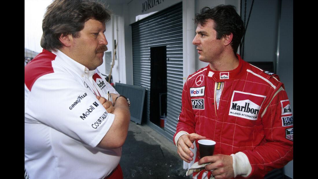 Mark Blundell 1995 McLaren Haug