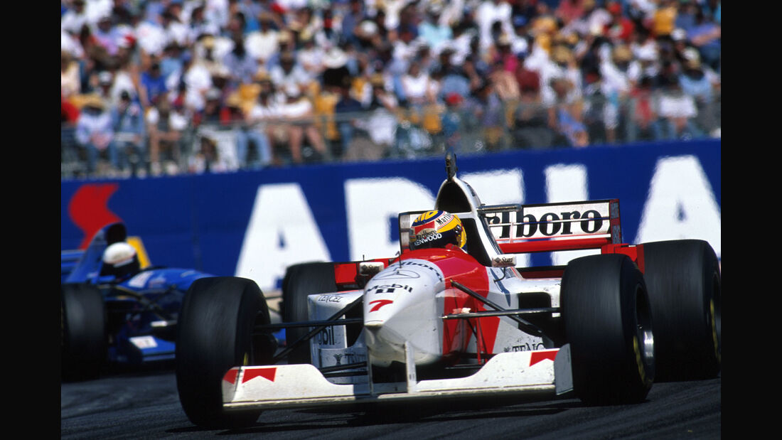 Mark Blundell - McLaren-Mercedes MP4-10 - GP Australien 1995 - Adelaide