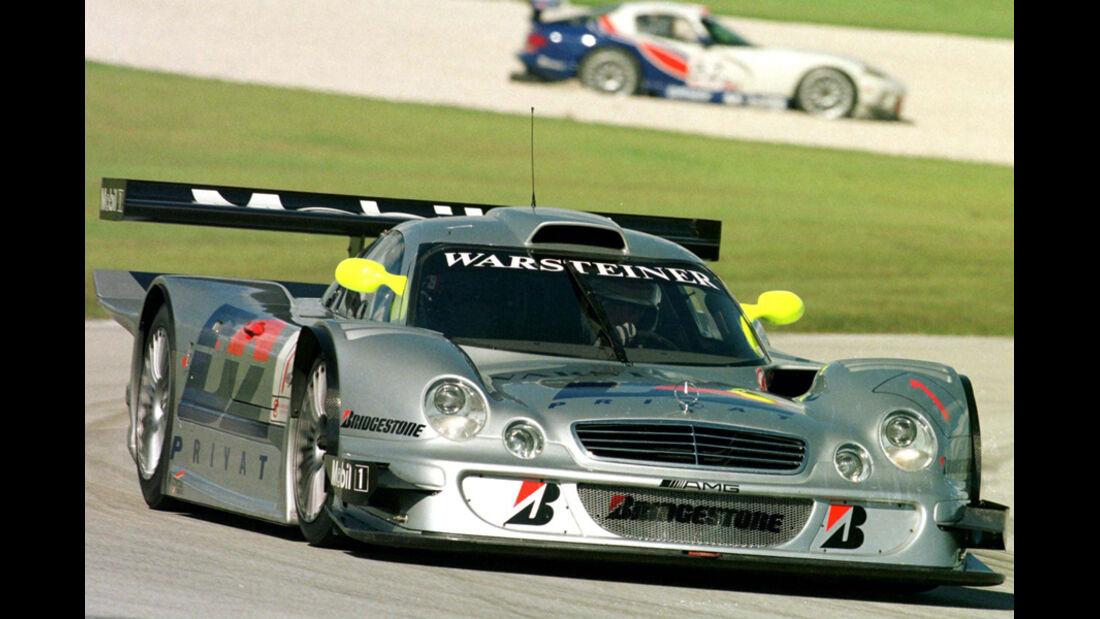 Mark Webber 1998 Suzuka FIA-GT Bernd Schneider Mercedes