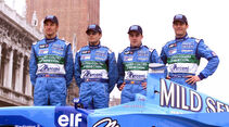 Mark Webber 2001 Benetton