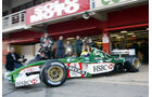 Mark Webber 2002 Jaguar Test