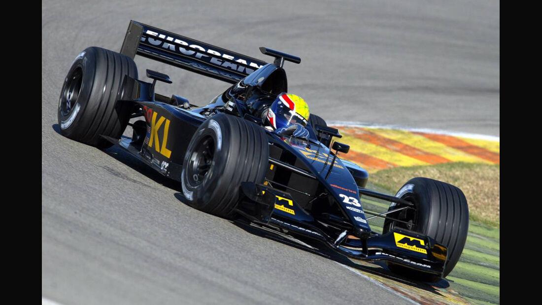 Mark Webber 2002 Minardi