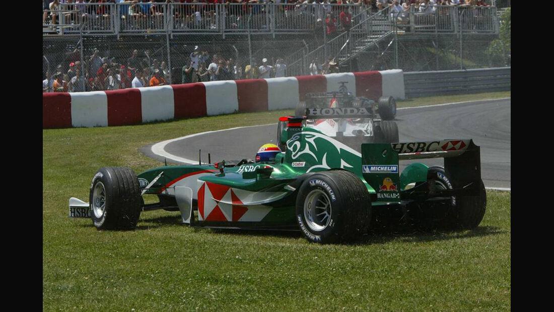 Mark Webber 2004 Jaguar