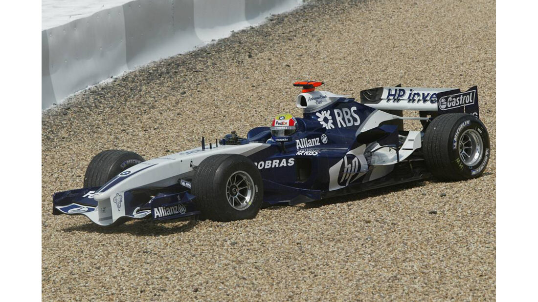 Mark Webber 2005 BMW Williams