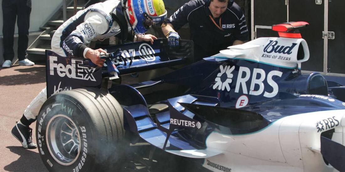 Mark Webber 2006 GP Monaco