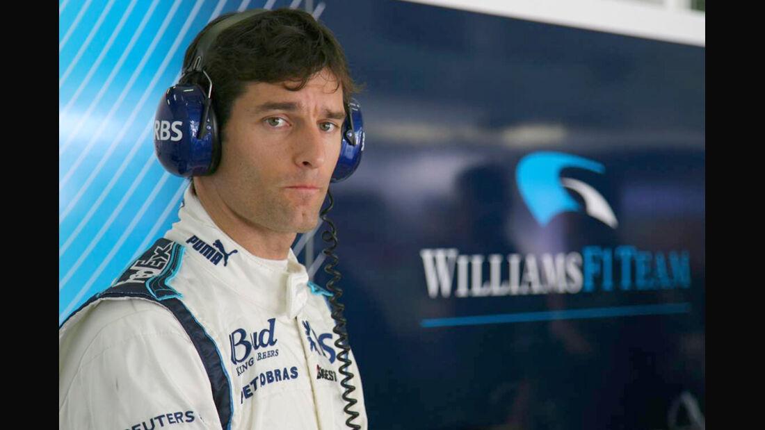 Mark Webber 2006 Williams Porträt